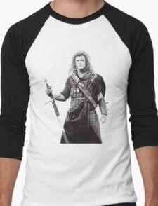 Braveheart Men's Baseball ¾ T-Shirt
