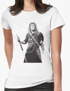 Braveheart Womens Fitted T-Shirt