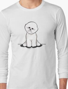 Bichon Frise Sit Pretty Long Sleeve T-Shirt