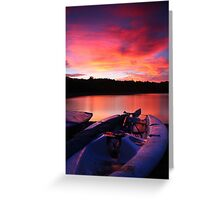 ardingly at sunset Greeting Card