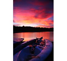ardingly at sunset Photographic Print