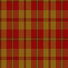 02276 Molten Orange Lindley Unidentified Tartan Fabric Print Iphone Case by Detnecs2013