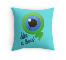 Sam the Septic Eye V.2 Throw Pillow