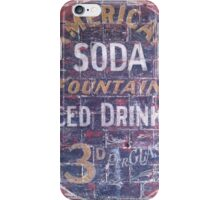 American Soda iPhone Case/Skin