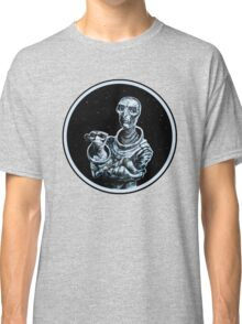 Cosmic Madonna and Monkey Classic T-Shirt