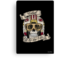 Rebel for Life Canvas Print