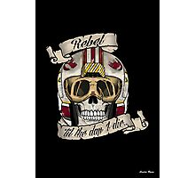 Rebel for Life Photographic Print