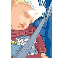 Happy Sleeping Child Photographic Print