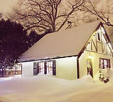 Winter Cottage by LauraPlad