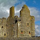Scalloway Castle ??? by Nancy Richard