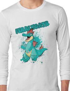 POKEMON: Feraligatr Long Sleeve T-Shirt
