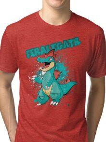 POKEMON: Feraligatr Tri-blend T-Shirt
