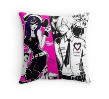 Cops and Robbers   Throw Pillow