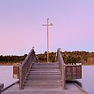 Start to the Evening  Lake Tuggeranong  Canberra Australia  by Kym Bradley