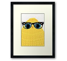 Nerd Chick Framed Print