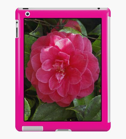 camelia pink ipad case iPad Case/Skin