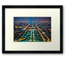 From the top of the Tower. Framed Print