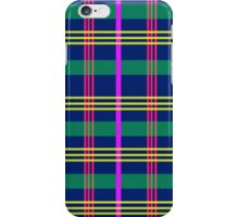plaaaid! - navy, pink, purple, green & yellow iPhone Case/Skin
