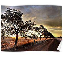 Stockinbingal Sunset # 3 Poster