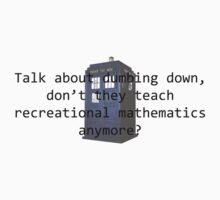 Recreational Mathematics 2 Kids Tee