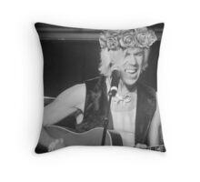 Josh Ramsay Flower Crown Throw Pillow