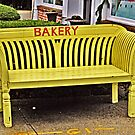 Now That's A YELLOW Bench! by Jane Neill-Hancock