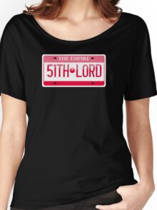TIE License Plate Women's Relaxed Fit T-Shirt