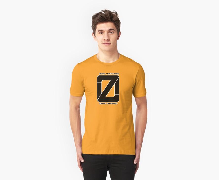 Zero Venture Zero Gained Numero Logo by Zero Dean