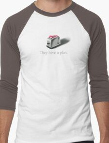 Toasters Men's Baseball ¾ T-Shirt