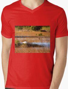 On The Hunt Mens V-Neck T-Shirt