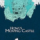 Howls Moving Castle by andbloom