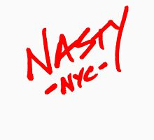 ONE WORD: Nasty - Oversized Red Thick Script Tee Unisex T-Shirt