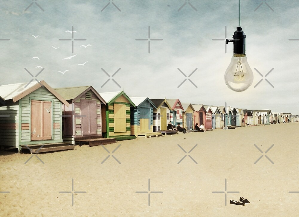 bathing boxes by Vin  Zzep