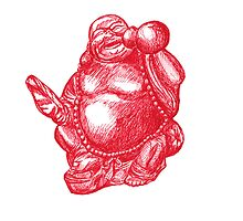 The Red Buddha by Matan Chaffee