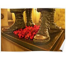 Poppies And Boots Poster