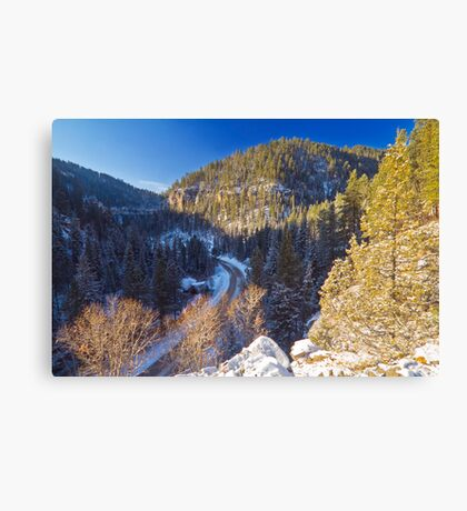 Above Eleventh Hour Canvas Print