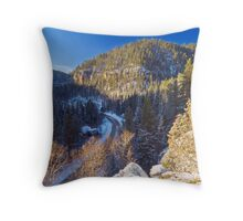 Above Eleventh Hour Throw Pillow