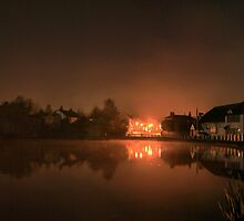 Early Morning Fog - Lindfield Village Pond #1 by Matthew Floyd