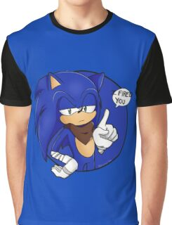 Sonic Boom - I Fired You Graphic T-Shirt