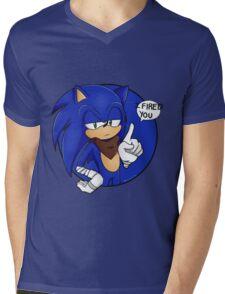 Sonic Boom - I Fired You Mens V-Neck T-Shirt