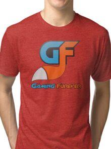 Gaming Furever Logo Tri-blend T-Shirt