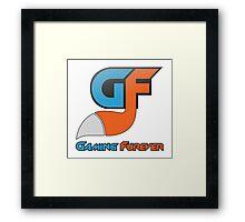 Gaming Furever Logo Framed Print