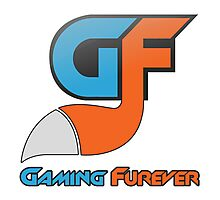 Gaming Furever Logo Photographic Print