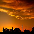 front yard sunset by fazza
