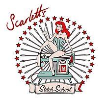 Scarlett's Stitch School Photographic Print