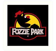 Fozzie Park Art Print