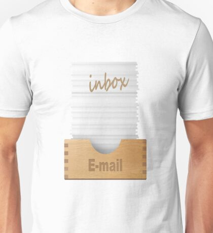 Everyone's email inbox after a day Unisex T-Shirt