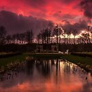 Hardwick Hall Sunset by neil sturgeon