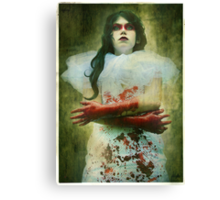 Lady Macbeth's Insanity Canvas Print