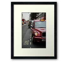 Spring in Oxford street Framed Print